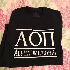 AOII Shirt Sleeve T-Shirt